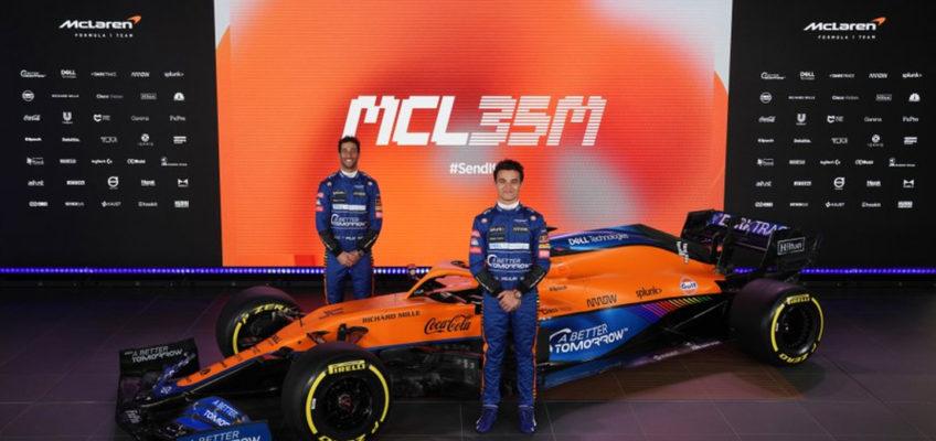 McLaren MCL35M: Nueva era con la vuelta del motor Mercedes