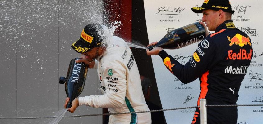 Adiós al champán en el podio; llega el vino espumoso