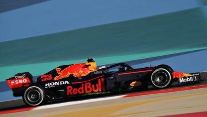 foto: Red Bull, el más fuerte en los test de pretemporada F1 2021