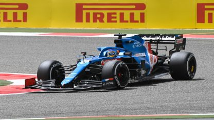 foto: Fernando Alonso estrenará mejoras en su Alpine en Ímola