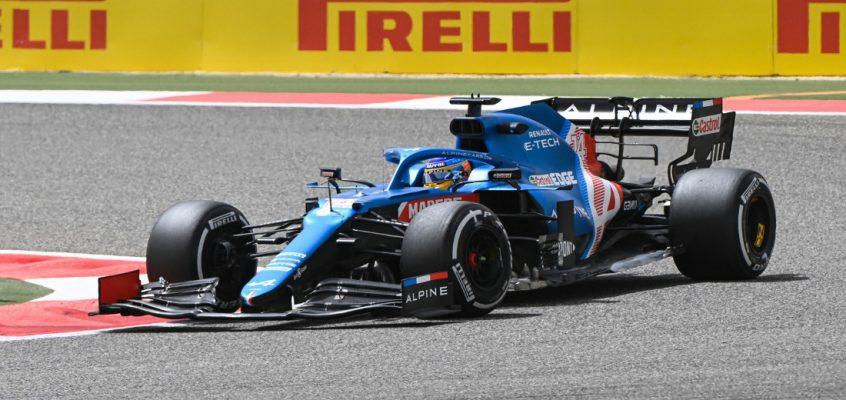 Fernando Alonso estrenará mejoras en su Alpine en Ímola