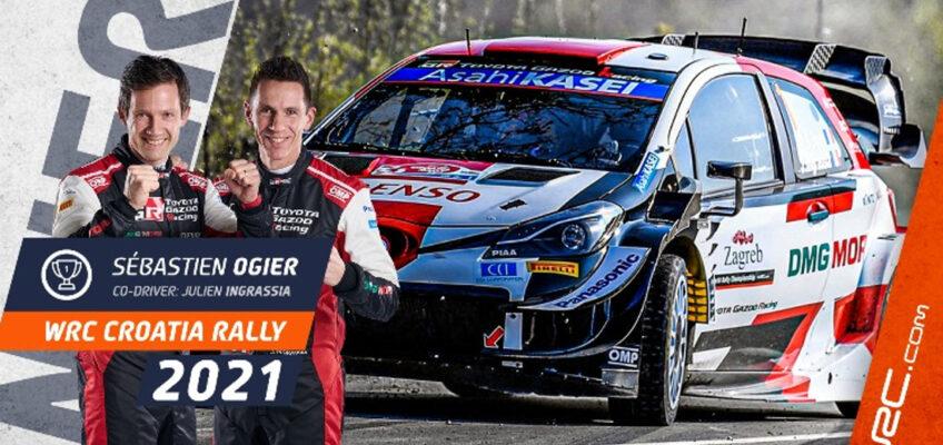Rally Croacia WRC: Triunfo épico y liderato para Ogier