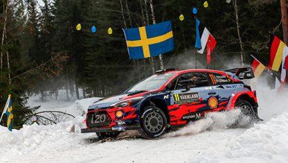 foto: El Rally de Suecia se muda al norte en busca de nieve