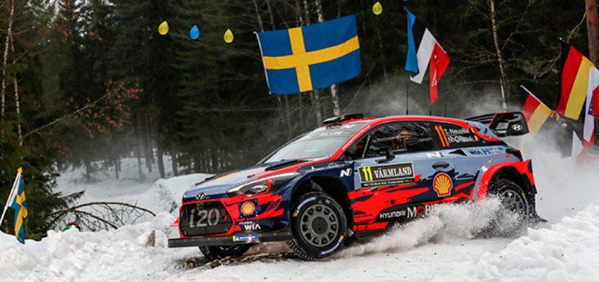 El Rally de Suecia se muda al norte en busca de nieve