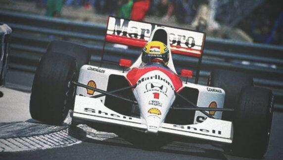 foto: 27 años de la muerte de Ayrton Senna