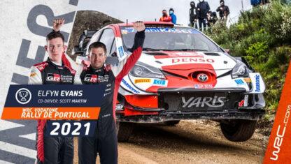 foto: Rally de Portugal: Evans gana ante un gran Sordo; desastre de Hyundai