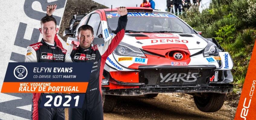 Rally de Portugal: Evans gana ante un gran Sordo; desastre de Hyundai