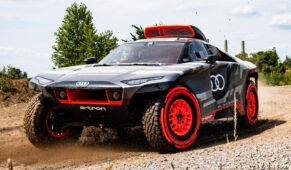 foto: Así es el AudiRS Q e-tron de Carlos Sainzpara el Dakar 2022
