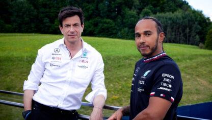 foto: Lewis Hamilton renueva con Mercedes hasta finales de 2023