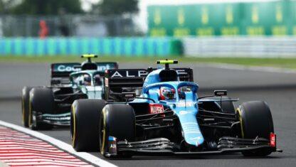 foto: GP de Hungría F1 2021: Victoria de Ocon, liderato para Hamilton y carrerón de Alonso y Sainz