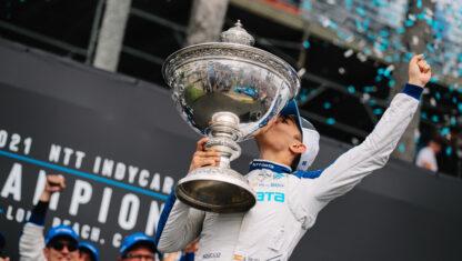 foto: Álex Palou, histórico primer campeón español de la IndyCar