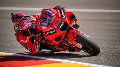 foto: GP Aragón MotoGP 2021: Bagnaia se lleva un duelo épico con Márquez