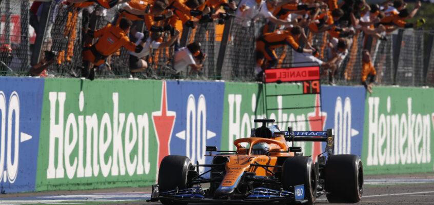 GP de Italia F1 2021: Ricciardo lidera el doblete de McLaren; choque de Verstappen y Hamilton
