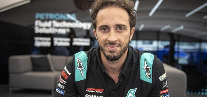 Dovizioso vuelve a MotoGP como sustituto de Morbidelli en el SRT