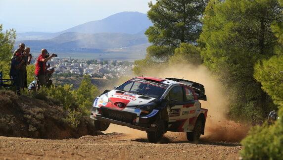 foto: Rally Acrópolis Grecia WRC 2021: Rovanperä, un 'dios' en el Olimpo heleno