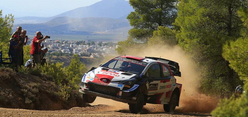 Rally Acrópolis Grecia WRC 2021: Rovanperä, un 'dios' en el Olimpo heleno