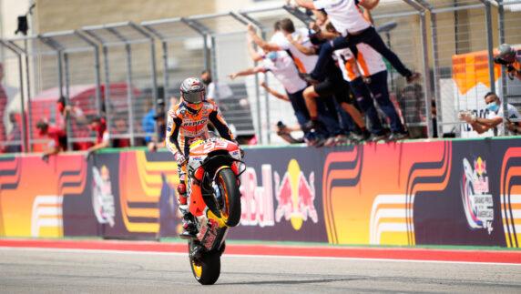 foto: GP de las Américas MotoGP 2021: GP de las Américas MotoGP 2021: Marc Márquez vuelve a ganar en Austin