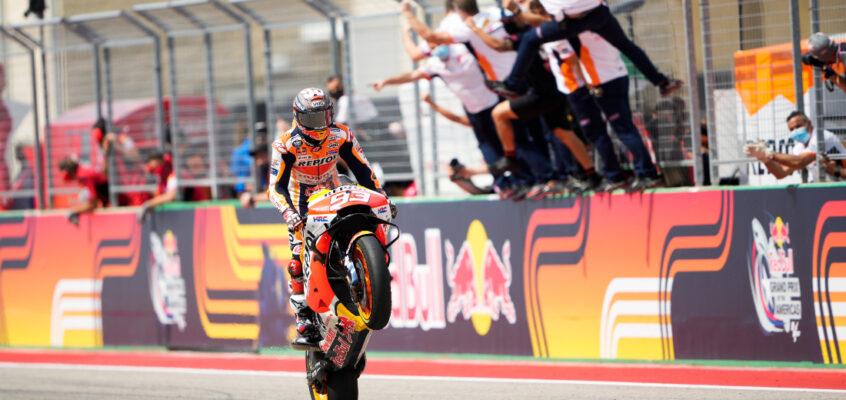GP de las Américas MotoGP 2021: GP de las Américas MotoGP 2021: Marc Márquez vuelve a ganar en Austin
